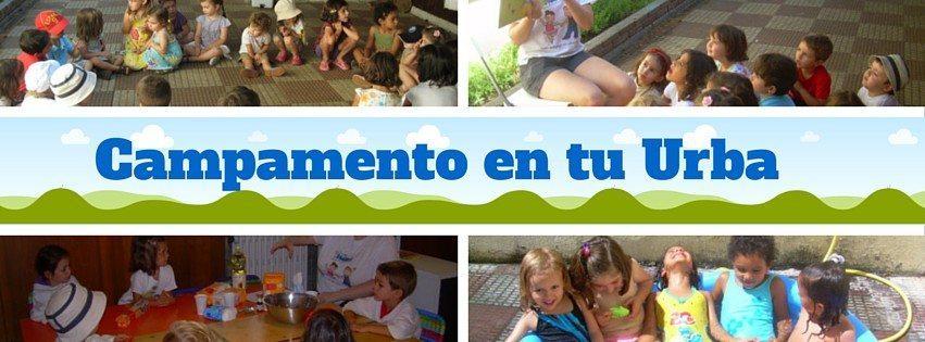 Campamentos en la urba en inglés en Madrid