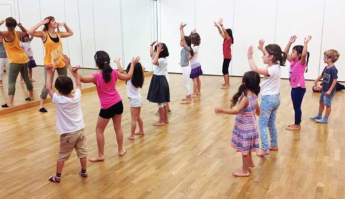 Campamentos de danza en inglés en Madrid