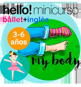 Mini curso online de ballet para niños